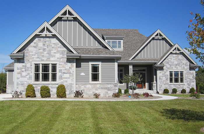Cambridge Castle Rock Veneer Exterior Stone Walls Pro