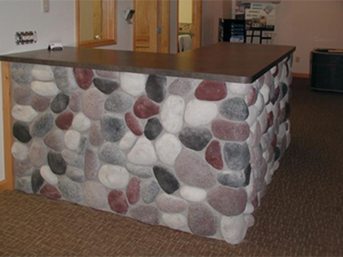 Faux Stone Veneer Exterior